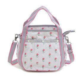 [LeSportsac] ハンドバッグ SMALL JENNI グレー系 | ころんと丸みを帯びたルックスが可愛らしい!ハンドバッグとしても◎