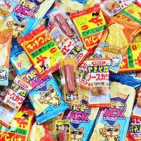 駄菓子5種(チーザック、ミニイカフライ、キリマルラーメン、ペ...