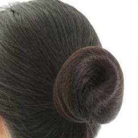 【2個セット】髪束ねネットセット《アシアナネット》ブラック6...