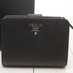 プラダ 二つ折り財布 1ML225 SAFFIANO 色:N...