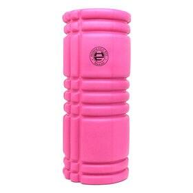 【ピンク】ヨガフォームローラー 33cm【ホノルルフィット ...