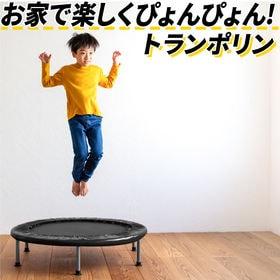 【カラー:ブラック】トランポリン 家庭用 直径102cm