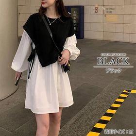 【ブラックXL】セットワンピース