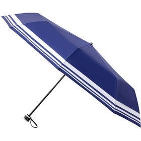【カラー:ネイビーB】折りたたみ傘 日傘 UPF50+