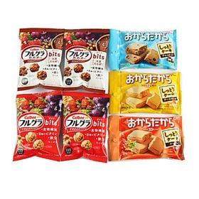 カルビー・グリコ栄養調整お菓子セットA【5種・計7コ】