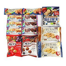 カルビー・グリコ栄養調整お菓子セットC【8種・計13コ】