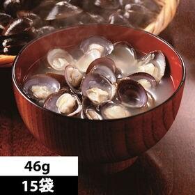 【46g×15袋】<宍道湖産大和しじみ>あわせみそ汁