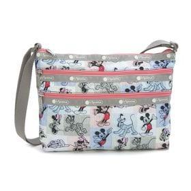 [LeSportsac×MICKEY&FRIENDS]ショルダーバッグ QUINN BAG マルチ | ミッキーと素敵な仲間たちが織り成す「Mickey&Friendsコレクション」!