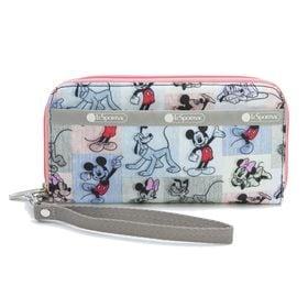[LeSportsac]長財布 TECH WALLET WRISTLET マルチ | ミッキーと素敵な仲間たちが織り成す「Mickey&Friendsコレクション」!
