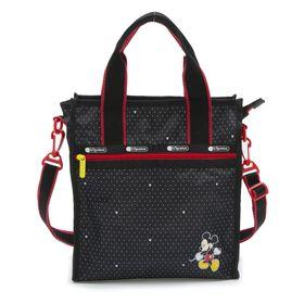 [LeSportsac]トートバッグ SMALL N/S TOTE ブラック | ミッキーと素敵な仲間たちが織り成す「Mickey&Friendsコレクション」!