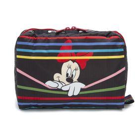 [LeSportsac]ポーチ TAB XL REC COSMETIC ブラック | ミッキーと素敵な仲間たちが織り成す「Mickey&Friendsコレクション」!