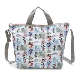 [LeSportsac]トートバッグ DELUXE EASY CARRY TOTE マルチ | ミッキーと素敵な仲間たちが織り成す「Mickey&Friendsコレクション」!