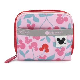 [LeSportsac×MICKEY&FRIENDS]財布 CLAIRE ピンク | ミッキーと素敵な仲間たちが織り成す「Mickey&Friendsコレクション」!