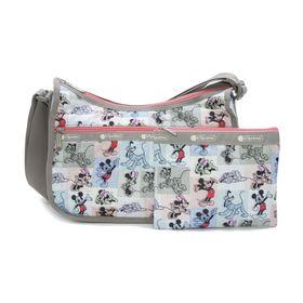 [LeSportsac]ショルダーバッグ CLASSIC HOBO マルチ | ミッキーと素敵な仲間たちが織り成す「Mickey&Friendsコレクション」!