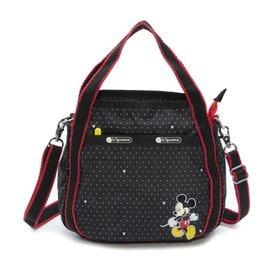 [LeSportsac×MICKEY&FRIENDS]ハンドバッグ SMALL JENNI ブラック | ミッキーと素敵な仲間たちが織り成す「Mickey&Friendsコレクション」!