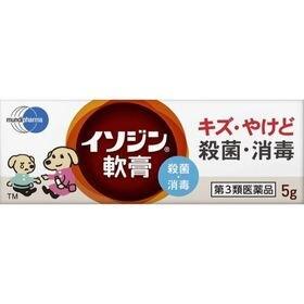 【第3類医薬品】イソジン軟膏 5g 殺菌消毒薬 市販薬