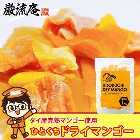 【1kg】ドライフルーツ「ドライ マンゴー」タイ産完熟マンゴー/食べやすいひとくちサイズ