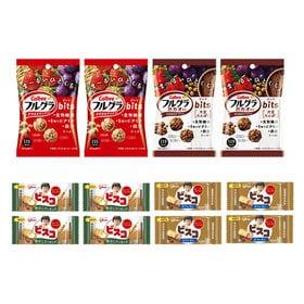【12コ入】カルビーとグリコのからだつよくなる健康お菓子セッ...