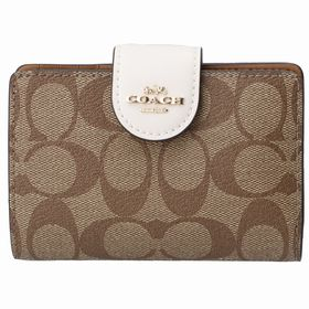 【COACH (OUTLET)】二つ折り財布/【IM/KHA...