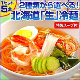 【特製ピリ辛 5食】北海道熟成「生」冷麺【I】