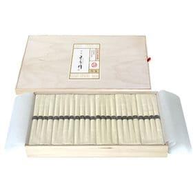 【27食入(50g×4束×12袋)】木箱入り手延べそうめん(...