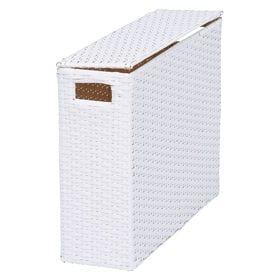 【ホワイト】トイレットペーパーボックス 高さ36cm