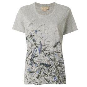 バーバリー Tシャツ 4067566 DOODLE PRIN...