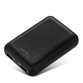 [ブラック]  8000mAh モバイルバッテリー