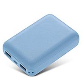 [ブルー]  8000mAh モバイルバッテリー
