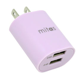 [ライラック] 急速充電器 USB-ACアダプター 2ポート...