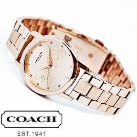 COACH コーチ腕時計 レディース GRAND ローズゴー...