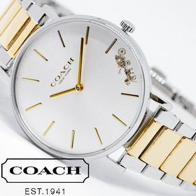 【コンビメタル】COACH コーチ 腕時計 レディース PE...
