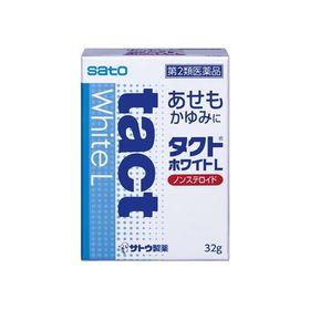 【第2類医薬品】タクトホワイトL 32g あせも かゆみ