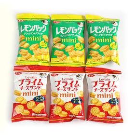 【6コ】ヤマザキビスケット ルヴァンプライムチーズサンドミニ...