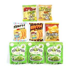 【8コ】ミーノそら豆とポテトフライ、ポテトスナックセット