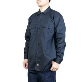 Mサイズ[Dickies]ワークシャツ L/S WORK S...