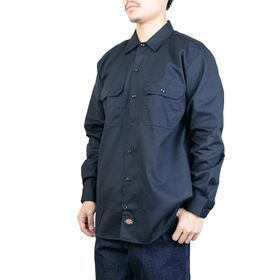 Lサイズ[Dickies]ワークシャツ L/S WORK S...