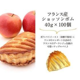 【40g×100個】フランス産 ショッソム ポム(冷凍パン)...