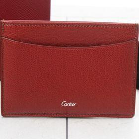 カルティエ カードケース L3001302 色:RED-レッ...