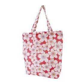 和柄エコバッグ 桜