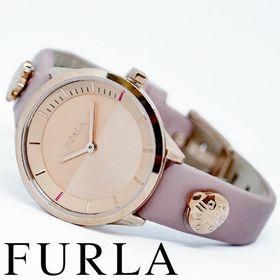 FURLA フルラ腕時計 レディース PIN ピンクベージュ