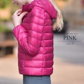 【ピンクXL】中綿ジャケット