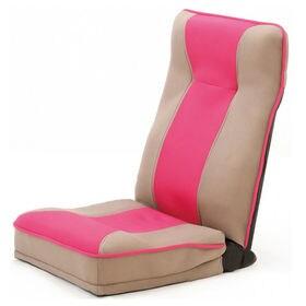 【ピンク】整体師さんが推奨する健康ストレッチ座椅子