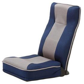 【ブルー】整体師さんが推奨する健康ストレッチ座椅子