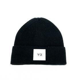 [Y-3] ニットキャップ Y-3 BEANIE ブラック