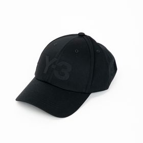 Mサイズ [Y-3] キャップ LOGO CAP ブラック