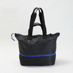 [LeSportsac] トートバッグ STUDIO TOTE ブラック | 二層構造で、荷物をすっきり収納!ジムバッグやマザーズバッグとしても♪