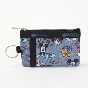 [LeSportsac] 定期入れ ID CARD CASE グレー系 | ミッキーと素敵な仲間たちが織り成す「Mickey&Friendsコレクション」!