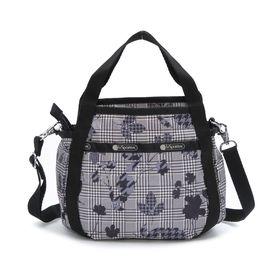 [LeSportsac]ハンドバッグ SMALL JENNI グレー系 | ころんと丸みを帯びたルックスが可愛らしい!ハンドバッグとしても◎