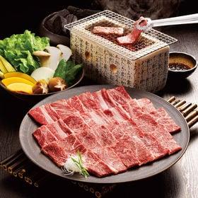 【計800g】宮崎牛5等級焼肉 肩ロース肉・もも肉各400g